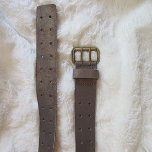 J.CREW Destroyed Leather Belt